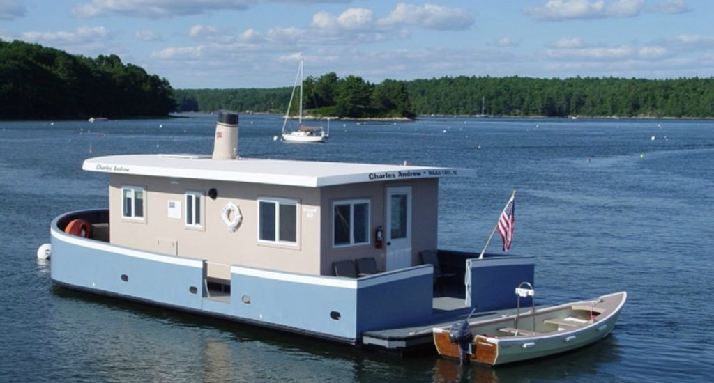 the charles andrew houseboat