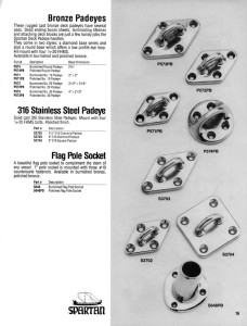 Flag Pole Socket