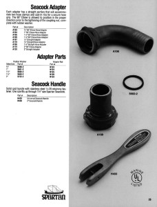 Seacock Hose Adapter & Parts